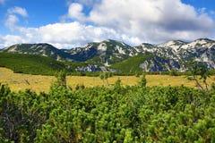 Die Gebirgslandschaft um Feuerkogel, Salzkammergut, Salzburg, Österreich Stockfotos