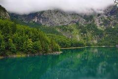 Die Gebirgslandschaft um Hintere Seealm, Salzkammergut, Salzburg, Österreich Stockfoto