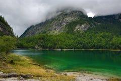 Die Gebirgslandschaft um Hintere Seealm, Salzkammergut, Salzburg, Österreich Stockbilder