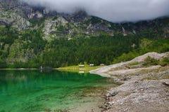 Die Gebirgslandschaft um Hintere Seealm, Salzkammergut, Salzburg, Österreich Stockfotografie