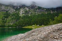 Die Gebirgslandschaft um Hintere Seealm, Salzkammergut, Salzburg, Österreich Lizenzfreie Stockfotos