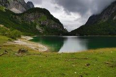 Die Gebirgslandschaft um Hintere Seealm, Salzkammergut, Salzburg, Österreich Lizenzfreies Stockfoto