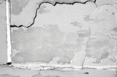 Die gebrochene Betonmauer Lizenzfreies Stockfoto