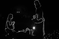 Die Geburt Christi Lizenzfreie Stockfotografie