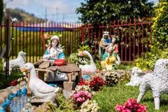 Die Geburt Christi von Jesus Lizenzfreie Stockfotos