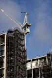 Die Geburt eines neuen Bürohauses Stockbilder