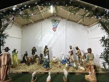 Die Geburt von Jesus Crist-Szene Lizenzfreie Stockbilder