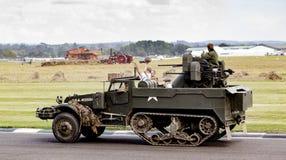 Die Gedenkparade des Zweiten Weltkrieges 75. Lizenzfreies Stockfoto