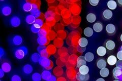 Die gefärbte Zusammenfassung beleuchtet bokeh Hintergrund Lizenzfreie Stockbilder