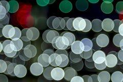 Die gefärbte Zusammenfassung beleuchtet bokeh Hintergrund Lizenzfreie Stockfotografie