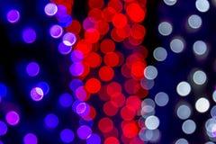 Die gefärbte Zusammenfassung beleuchtet bokeh Hintergrund Lizenzfreie Stockfotos