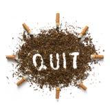 Die Gefahren des Rauchens Stockfotos