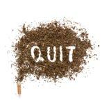 Die Gefahren des Rauchens Lizenzfreie Stockfotos