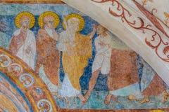 Die Gefangennahme von Christus in Gethsemane Stockbilder