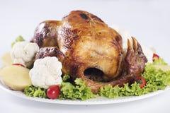 Die gegrillte Türkei Stockbild