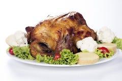 Die gegrillte Türkei Stockbilder