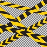 Die gekreuzte Vorsicht nimmt Grenzvektor auf Stockfotos