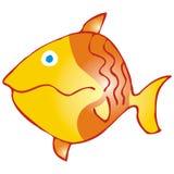 Die gelben Fische lizenzfreie abbildung