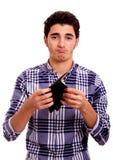 Die Geldbörse des Jugendlichen Lizenzfreie Stockbilder