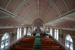 Die gemalte Kirche von schulenburg Texas stockbild
