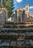 Die Gemeinde Kirche von Sant-` Appiano Stockfotografie