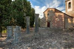 Die Gemeinde Kirche von Sant-` Appiano Stockbild