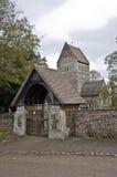 Die Gemeinde-Kirche von Str. Lawrance Stockfotografie