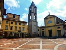 Die Gemeinde von San Piero von Agliana stockbilder