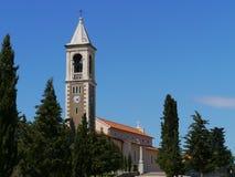 Die Gemeindekirche von St Michael Stockbild