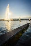 Die Genf-Stadt Stockfoto