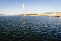Die Genf-Stadt Lizenzfreie Stockfotos