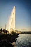 Die Genf-Stadt Lizenzfreies Stockbild
