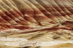 Die Geologie in gemaltem Hügel-Staat Oregon lizenzfreie stockbilder