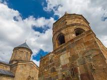 Die georgische Kirche Stockfotografie