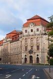 Die Gerechtigkeit Palace von Bayreuth lizenzfreie stockfotografie