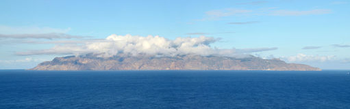 Die gesamte Insel von Brava Lizenzfreie Stockfotografie