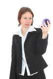 Die Geschäftsfrau. Lizenzfreie Stockfotos