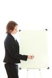 Die Geschäftsfrau. Stockbilder