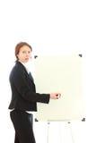 Die Geschäftsfrau. Lizenzfreie Stockbilder