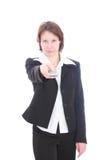 Die Geschäftsfrau. Lizenzfreies Stockfoto