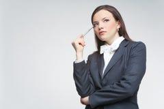 Die Geschäftsfrau Lizenzfreie Stockfotografie
