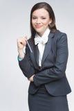 Die Geschäftsfrau Stockbild