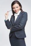Die Geschäftsfrau Stockfotografie