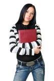 Die Geschäftsfrau mit Dokumenten Lizenzfreie Stockfotografie