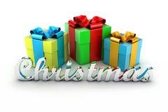 Die Geschenke Stockfotos
