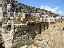 Die Geschichte der Studie der Ruinen von Tradition Stockbilder