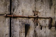 Die geschlossene Tür Stockfotos