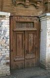 Die geschlossene Tür Stockfoto