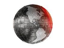 Die geschmiedete Erde Stockfotografie