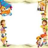 Die Gestaltung für verschiedene Verwendung - mit Leuten im unterschiedlichen Alter - Kleinjugend - für Kinder Lizenzfreie Stockfotos
